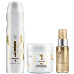 WELLA-SHAMPOO-OIL-REFLECTIONS-250ML-MASCARA-OIL-REFLECTIONS-150ML-OLEO-SP-LUXE-30ML-WELLA