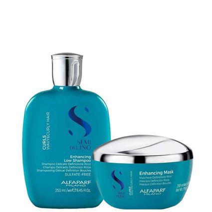 Kit Low Shampoo E Máscara Alfaparf Sdl Curls Home Care