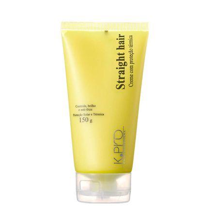 Protetor Térmico Defrizante K.Pro Straight Hair 150g